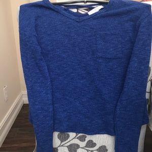 Moa Moa girls size L light sweater
